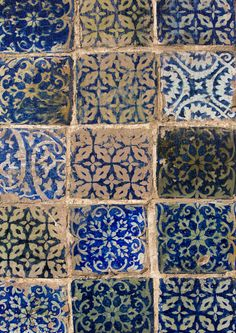 Tiles: Abakh Hoja Tomb, Burial Place Of Muhatum Ajam, Kashgar, Xinjiang, China by Eric Lafforgue on Flickr.