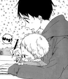 Gakuen Babysitter All Anime, Anime Love, Anime Guys, Manga Anime, Gakuen Babysitters, Anime Child, Baby Club, Anime Naruto, Manhwa