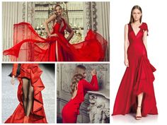 All Red Everything!! Dress Drama! #frill #ruffle #red #dress #fashion