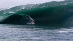 Bruce Irons during the infamous Code Red swell in 2011. Photo by Roberston.