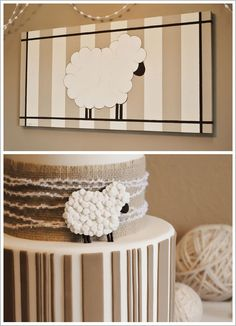 I really like this lamb on canvas and it looks pretty easy....may have to try it
