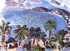 Mediterranean Scene, Raoul Duffy