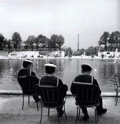 Jardin des Tuileries Paris 1959 Robert Doisneau