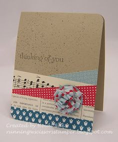 HYCCT Clean Strips by - Cards and Paper Crafts at Splitcoaststampers Card Making Inspiration, Making Ideas, Cool Cards, Diy Cards, Deco Tape, Washi Tape Cards, Karten Diy, Card Sketches, Card Tags