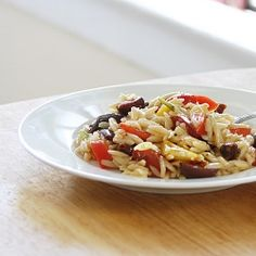 This orzo salad with citrus dressing is the perfect summer side dish!