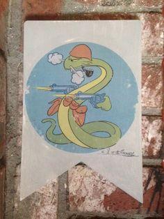 Disney military insignia Smoking Snake