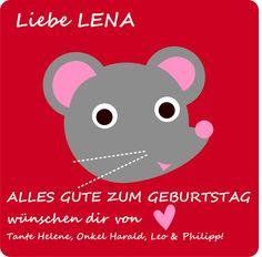 Geburtstag Lena Compleanno Lena
