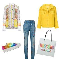 Vivere a colori  outfit donna Trendy per scuola universit   14ce476d974