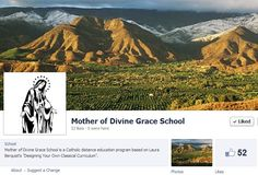 MODG, Mother of Divine Grace Catholic + Classical Homeschool curriculum now has a FACEBOOK page.  Please give it a LIKE. Sure they will share helpful homeschool resources and articles. Homeschool Curriculum, Homeschooling, Mother Of Divine Grace, Classical Education, Catholic, Kindergarten, Religion, Articles, Christian