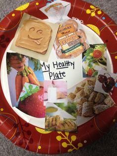 healthy eating plate - kindergarten