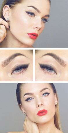 new Ideas makeup everyday eyeliner linda hallberg Linda Hallberg, Eye Makeup, Makeup Tips, Makeup Set, Makeup Lessons, Makeup Style, Make Up Looks, Simple Makeup, Natural Makeup