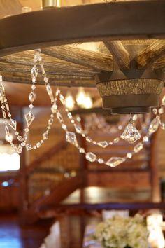 wagonwheel chandelier