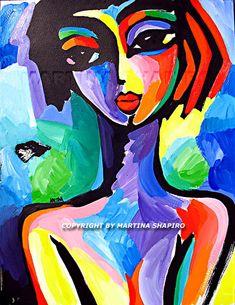 famous abstract art faces - Buscar con Google