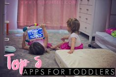 A post about the Top 5 Apps for Toddlers and Preschoolers