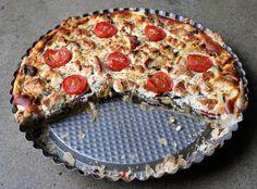 moey's kitchen: Mediterrane Grillgemüse-Tarte mit Ricotta und Feta
