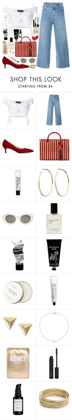 """""""LANA DEL REY - LUST FOR LIFE: GET FREE"""" by queen-laureen ❤ liked on Polyvore featuring Thakoon, RE/DONE, L.K.Bennett, Nannacay, philosophy, Jennifer Fisher, Acne Studios, Aesop, TokyoMilk and Martha Stewart"""