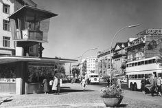 Verkehrskanzel am Joachimstaler Platz, Kurfürstendamm, 1961