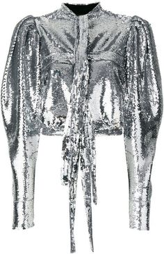 Brognano cropped sequin shirt