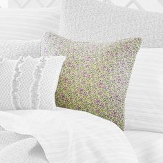 I pinned this Tinsley Pillow from the Laura Ashley Bedding event at Joss & Main!