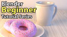 Blender Beginner Tutorial - Part 1: User Interface