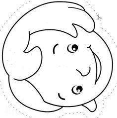 Maestra De Infantil La Familia Abuelos Padres Y Nietos Para Colorear Y Recortar Plantilla Para Muneca De Papel Caras De Ninos Dibujos De Padres