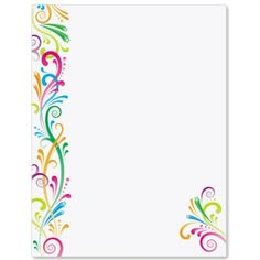 Party Spirit Letter Paper | Idea Art