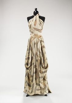 Dress, Evening  Charles James  (American, born Great Britain, 1906–1978)    Date:      1936  Culture:      American
