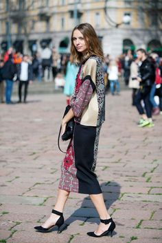 Street Style Photos Milan Fashion Week - Fall 2014 Street Style PIctures MFW