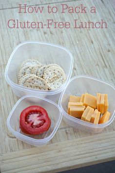 How to Pack a Gluten-Free Lunch