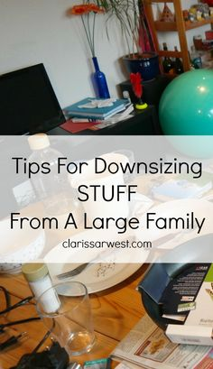 good tips for how to stay on top of the clutter!