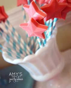 Little Mermaid Ariel Birthday Party Ideas from Amy's Party Ideas