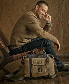 The Estate Messenger bag from Fossil- get it, or continue to be stupid.