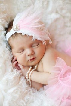 Poppie Lee newborns by glamour & grace photography #newborn #photography she also is wearing my wedding pearls in all the pics with pearls in them :)