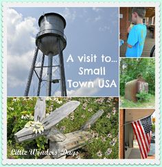 Tips for exploring a small town via Little Wonders' Days