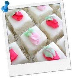 Easy Dessert Recipe | Birthday Party Recipe | Petit Fours at Birthday in a Box #easy #dessert #recipes