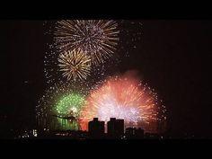 """諏訪湖花火 水上大スターマイン Lake Suwa Fireworks - """"Kiss of Fire"""""""