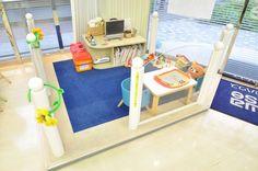 【藤和ハウス国分寺店 キッズスペース写真】 小さなお子様と一緒でも安心してご来店頂けます。 http://www.towa-house.co.jp/kokubunji/