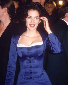 Winona at the premiere of Bram Stoker's Dracula, November 1992.