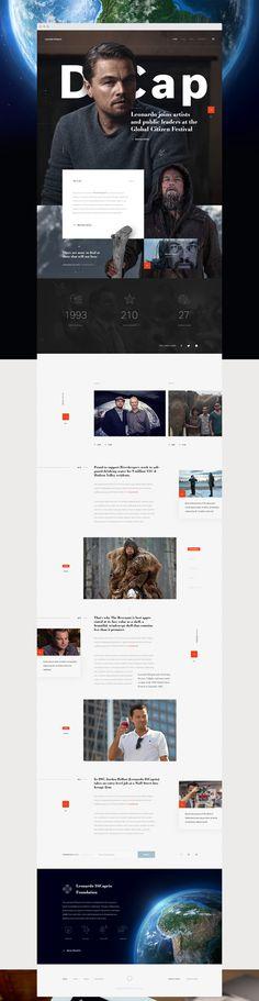 Leonardo DiCaprio Foundation on Behance