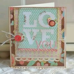 Love all the layers on this card!