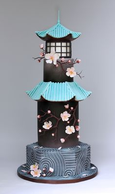 Gardens of the World Cake Collaboration. See more in August's issue of Cake Craft & Decoration.