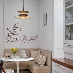 Ez az a sarok, ahol a kedvenc kávéd elfogyaszthatod! #faltetoválás#falmatrica#lakásdekoráció#lakásfelújítás#konyha#ebédlő#konyhamatrica#konyhadíszítése#konyhadekorálása#coffemintakávésziluett#kávéminta Sweet Home, Anna, Coffee, Ideas, Home Decor, Kaffee, Decoration Home, House Beautiful, Room Decor