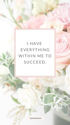 Positive Affirmations For Success, Positive Mantras, Self Love Affirmations, Positive Words, Positive Vibes, Positive Mindset, Positive Thoughts, Attraction, Affirmation Cards