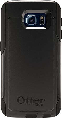OtterBox COMMUTER SERIES for Samsung Galaxy S6  FrustrationFree Packaging  Black >>> You can get additional details at the image link.