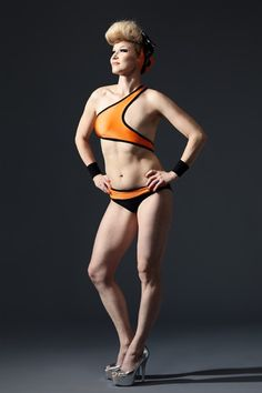 """Elina """"I do not want to hide, I do not want to stop swimming, I do not want to undergo extensive plastic surgery operations, and I do not want to be forced to use the uncomfortable prosthesis on the beach. I want to feel as free and active as I did before my cancer, and Monokini 2.0 gives me a chance to do exactly that.""""  SWIMSUIT DESIGN BY ELINA HALTTUNEN"""