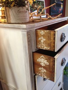 Dresser vintage antique furniture home decor by girlUPcycled, $400.00