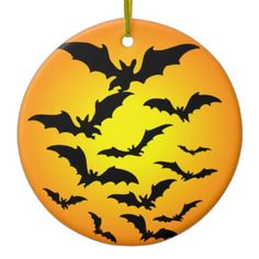 The bat of Halloween - Christmas Tree Ornaments
