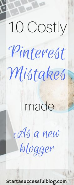 Learn from my mistakes so you don't make them too! I'll share my top 10 Pinterest boards, and a costly mistake I was making with each of them! Don't lose potential views and followers by making these mistakes! It takes less than 5 minutes to see if you need to make some changes to your Pinterest strategy, so head on over and check it out for yourself!!!