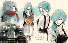 Image about anime in ghoul by one. Manga Anime, Manga Art, Anime Art, Touka Kaneki, Tokyo Ghoul Pictures, Attack On Titan Anime, Kawaii, Character Design, Character Ideas