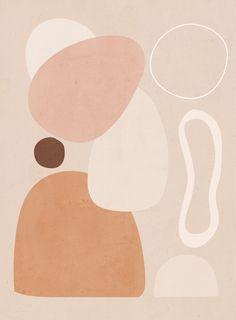 Modern Abstract Art 03 Art Print by LeaDArt